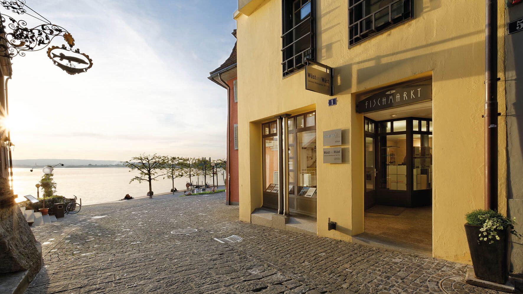 Real estate management in z rich basel luzern for Fischmarkt zug
